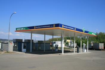 Výstavba čerpací stanice CNG